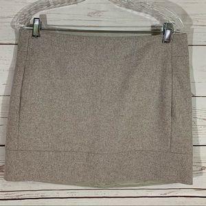 NWT J Crew Factory Wool Mini Wool Blend Skirt